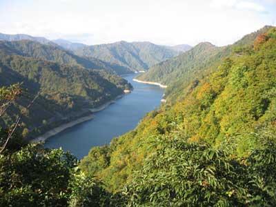 奥只見湖・尾瀬沼・燧岳の紅葉